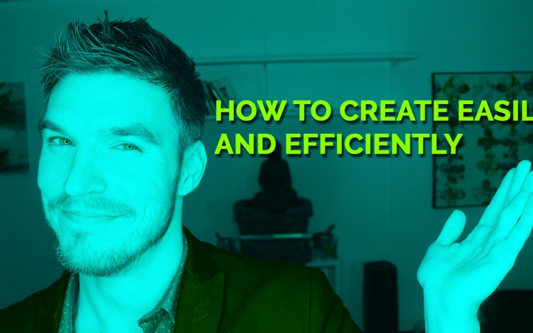How To Create Easily and Efficiently……A Coaches Perspective